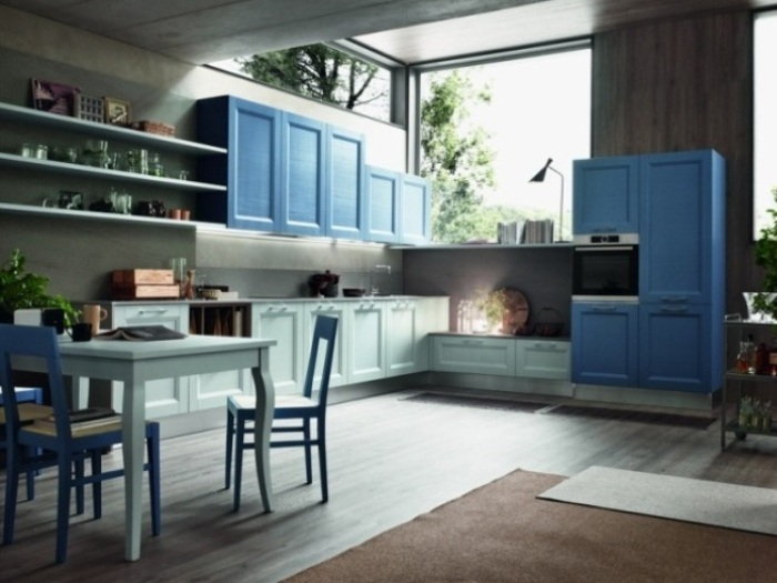 Cucine promozione cucine aprile in promozione fino al 30 for Cucina azzurra