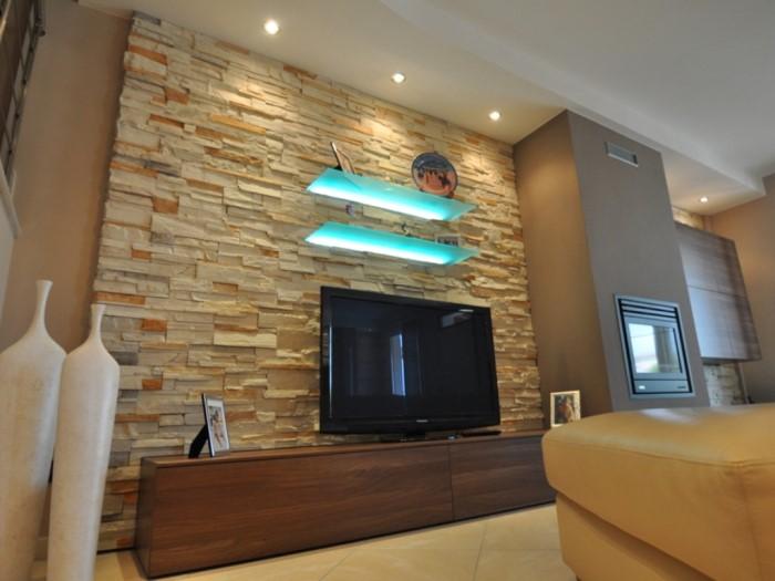 Realizzazione soggiorno e cucina brescia mastrelli for Arredamento in pietra